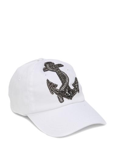 Beymen Club Beymen Club  Çapa İşlemeli Kadın Şapka 101546526 Beyaz